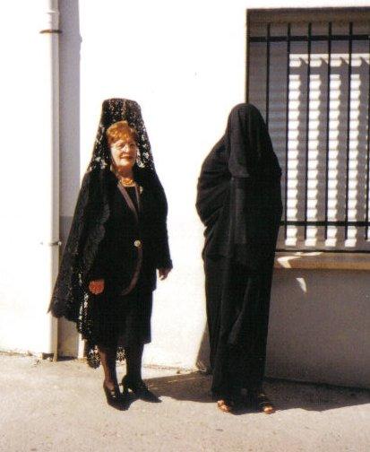 Nieta y abuela